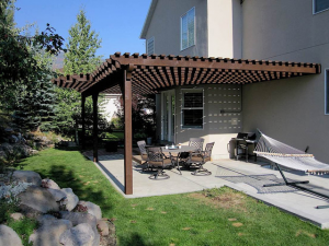 What Is A Wall-Mounted Pergola?