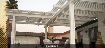 laguna lattice pergola style